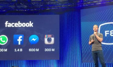 Les 3 les annonces phares de la Facebook F8
