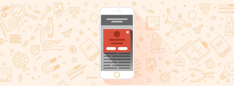 Google va pénaliser les sites trop intrusifs sur mobile