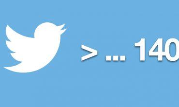 Twitter assouplit la limite des 140 caractères