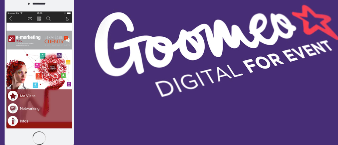 Goomeo l 39 application officielle du salon e marketing paris - Salon emarketing paris ...