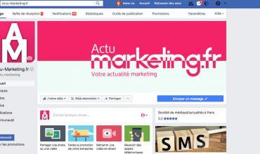 Gestion d'une page Facebook entreprise : les débuts