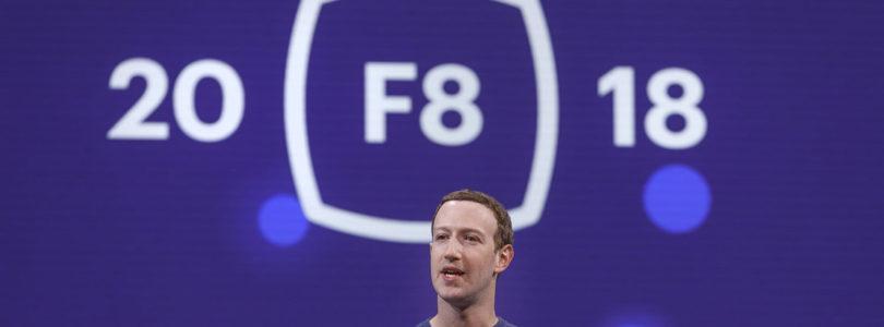 Les nouveautés de Facebook annoncées à la F8 2018